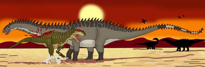 Apatosaurus in BRONTOSMASH!