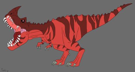 Genndy Tartakovsky's Primal Theropod