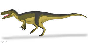 Dinovember 7: Afrovenator