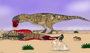 Dinovember 15: Majungasaurus