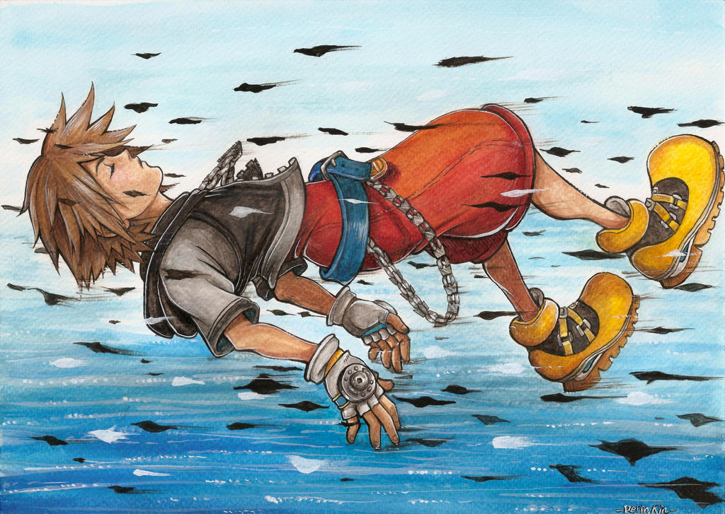 Sora Kingdom Hearts by RerinKin
