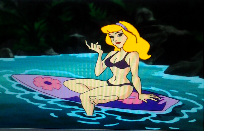 What If Daphne was a Blonde by starkillerclone-g