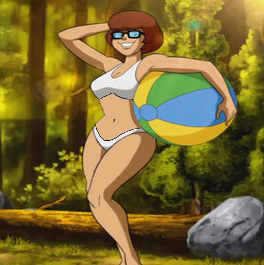 Sun bathing nude