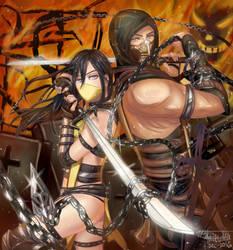 REQUEST: Scorpion X Hellfire by MayShizuoka