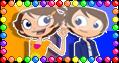 stamp Sunny and Chris by tsubasa-usagi