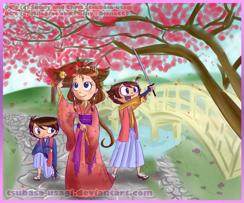 Contest- Alrededor del mundo. A traves del tiempo. by tsubasa-usagi