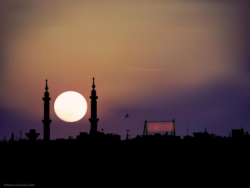 Ramadan Sunset by I-Utopia