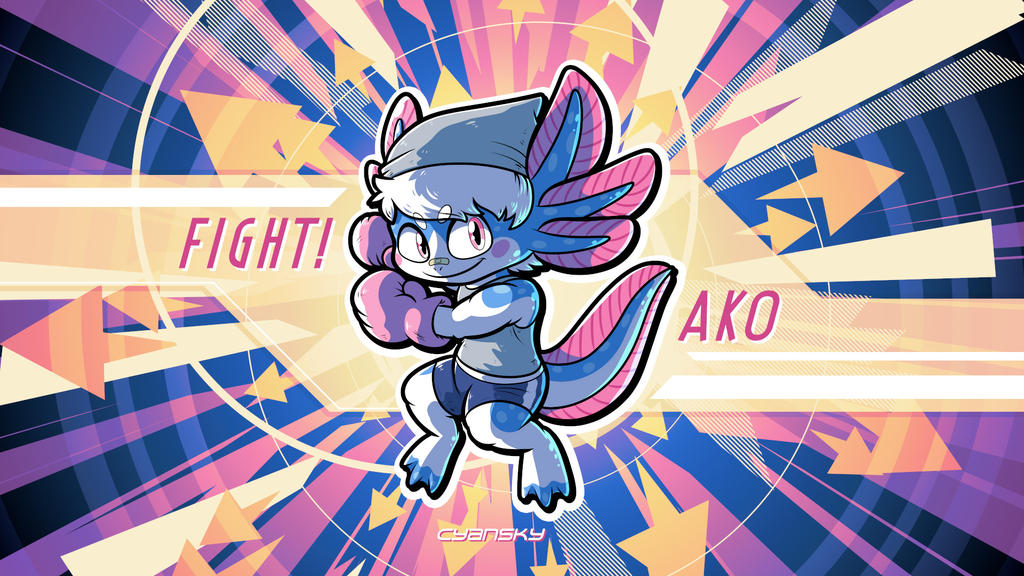 Fight! AKO by BabyZhang