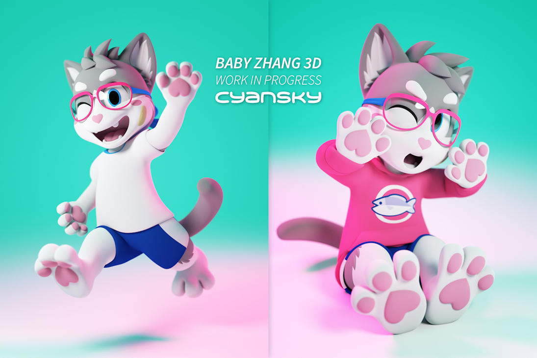 Baby Zhang 3D With Clothes by BabyZhang