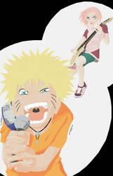 Vector - Naruto: Team 7 pt.1 by zeki-chan