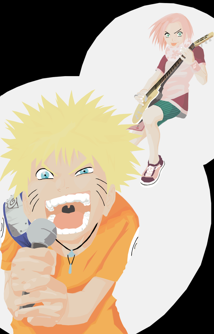 Vector - Naruto: Team 7 pt.1 by zeki-chan