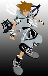 KH2: Sora - Final Form by zeki-chan