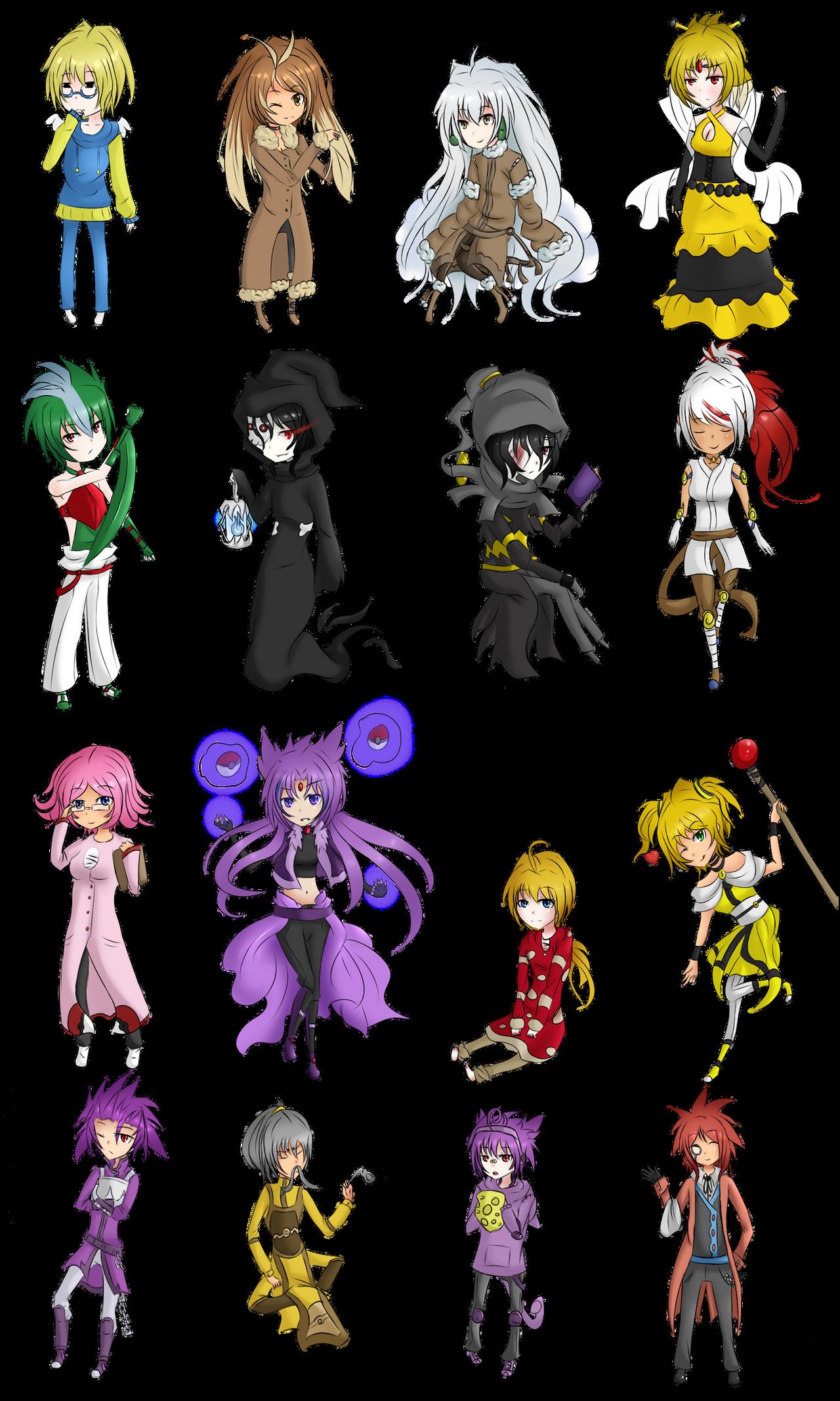 1000+ images about Pokemon Gijinka on Pinterest | Pokemon ...