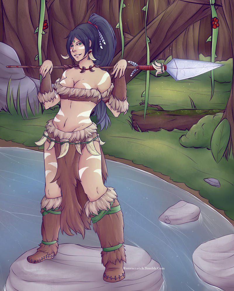 LoL - Nidalee by RuneScratch