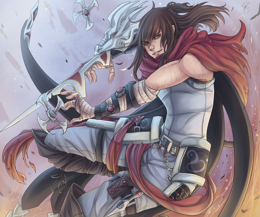 Dragonblade Talon by RuneScratch