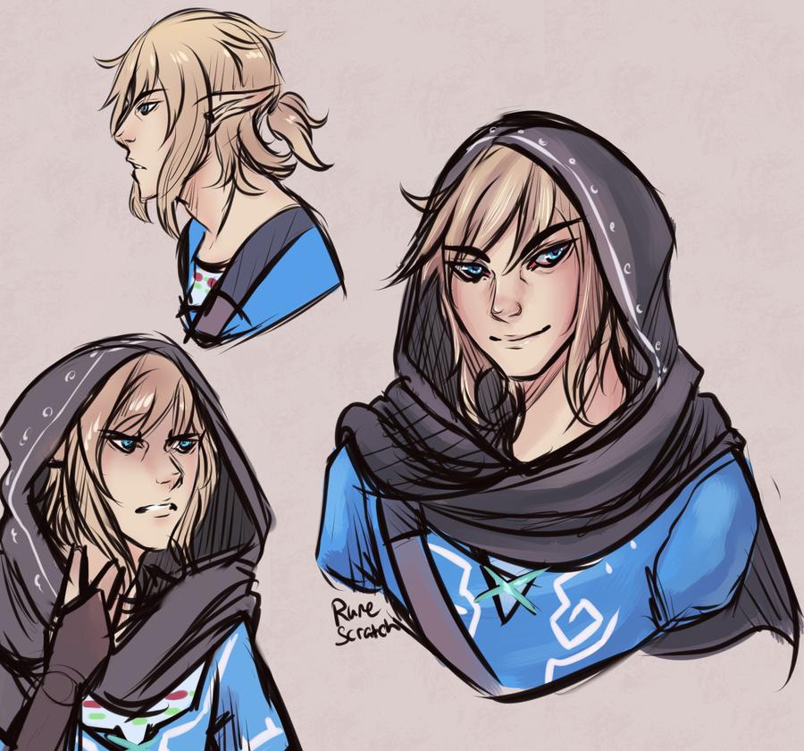Link Doodles by RuneScratch