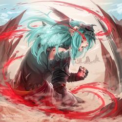 Inner beast by RuneScratch