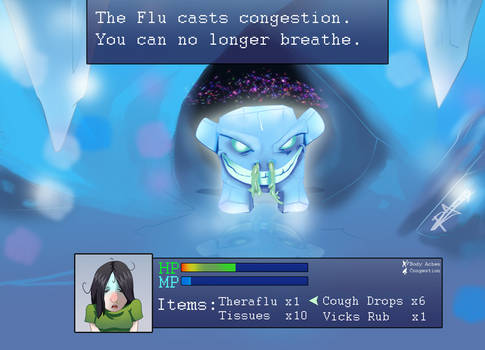 Flu Fight The RPG