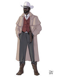 QUINCEY P. MORRIS by Libra1010