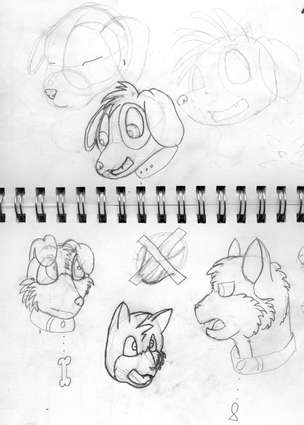Housepets sketches by Cowlinator