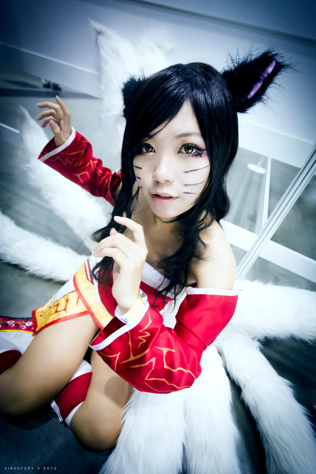 Ahri | League Of Legends by KiroStory on DeviantArt Ahri League Of Legends Cosplay