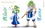 Alair e Lune - Phantasy Star 3