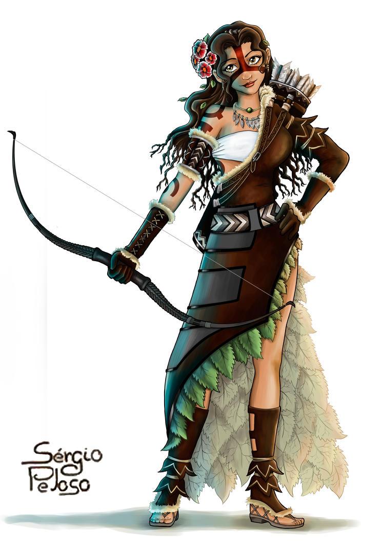 Guerreira---Terra by seijiwolf