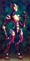 Unit V3L-0X - Intergalactic Robot Assassin -OLD-