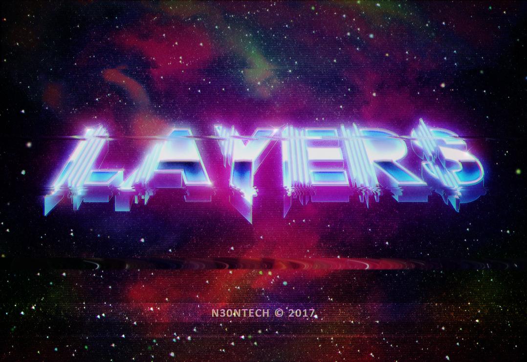 LAYERS Ver2 - VHS Glitch by N30NTECH