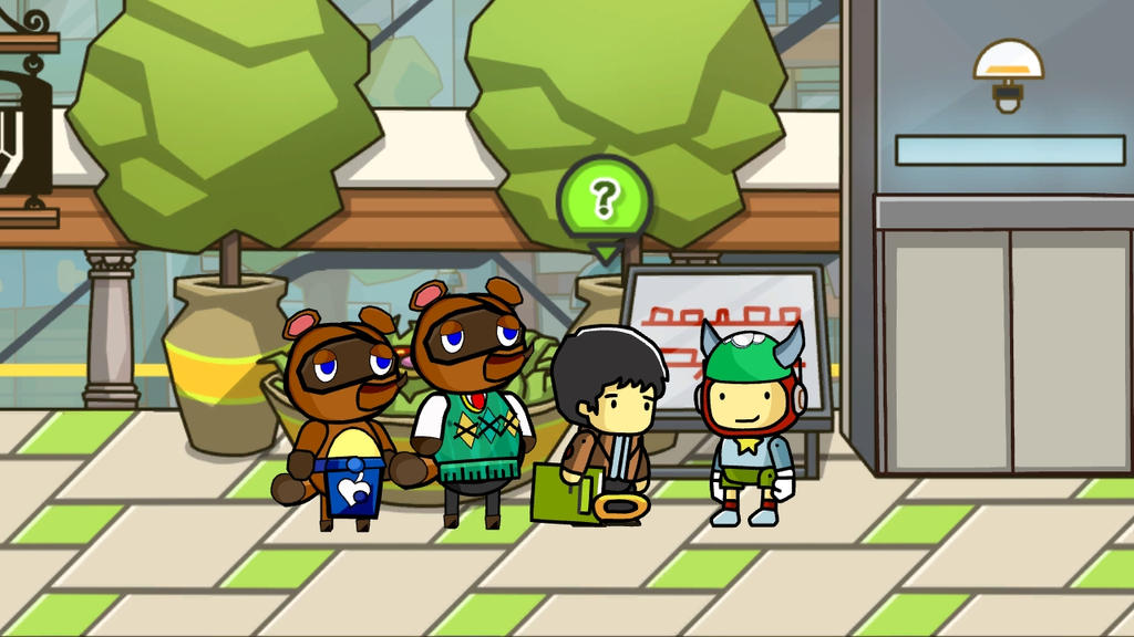 Tom Nook now in Scribblenauts Unlimited! by Some-Crappy