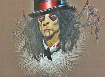 Alice Cooper portrait by MetalMonsterDSN