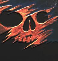 Tattered Skull by MetalMonsterDSN