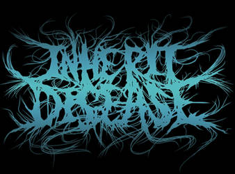 Inherit Disease custom logo by MetalMonsterDSN