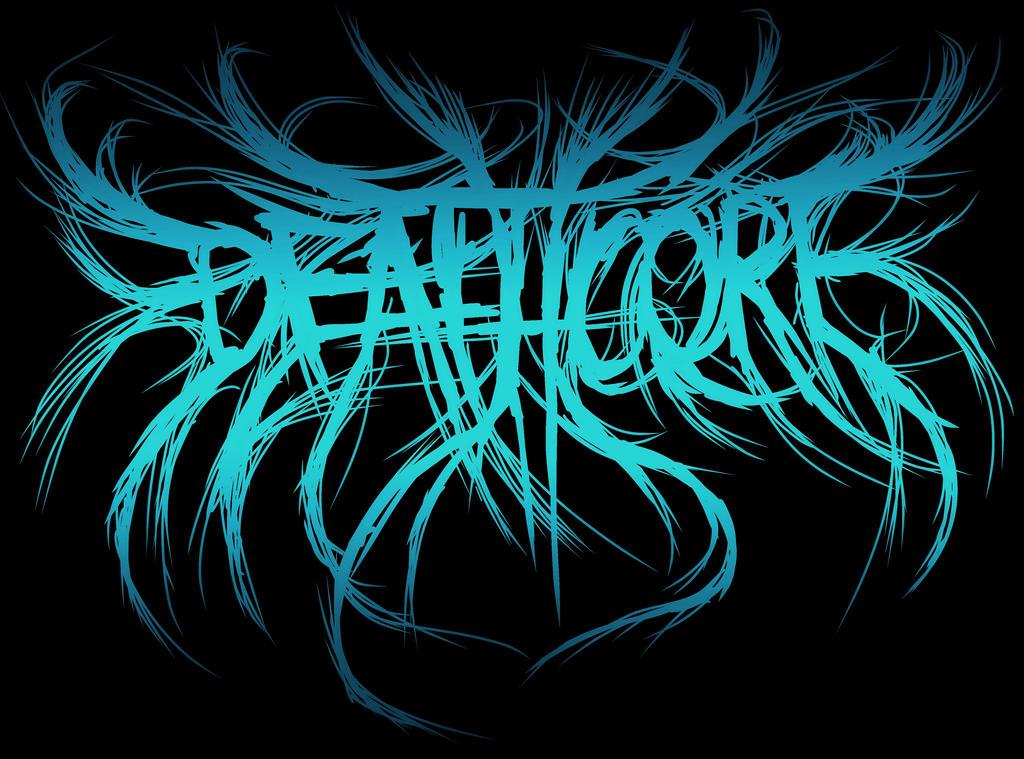 'Deathcore' logo by MetalMonsterDSN