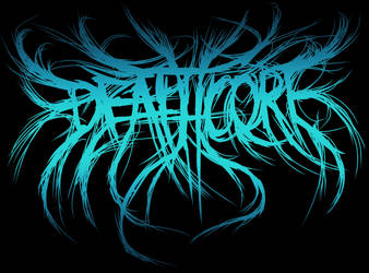 'Deathcore' logo by MetalMonsterDSN