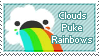 Clouds Puke Rainbows by RuthlessDreams