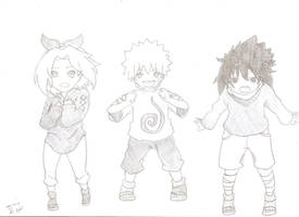 Sakura Naruto and Sasuke