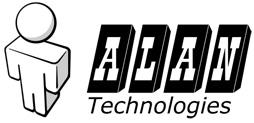 alan tachnologies logo by monterxz
