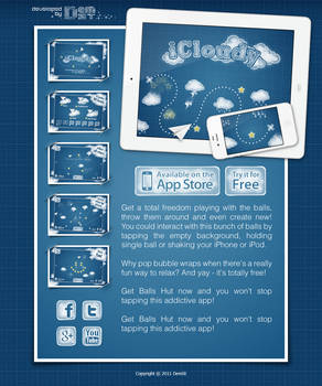 iCloudy webpage