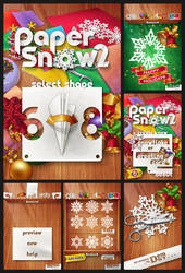 Paper Snow 2 by monterxz