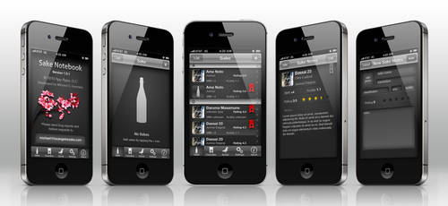 Sake app by monterxz
