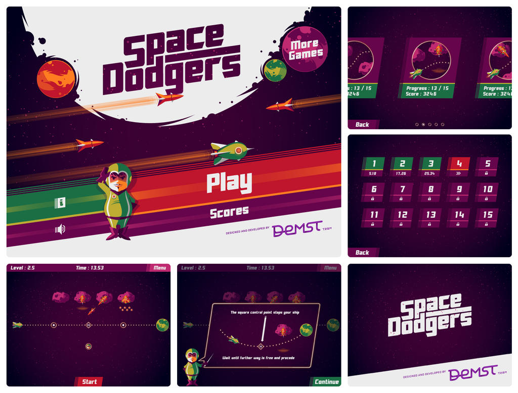Space Dodgers game
