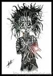 _Edward Scissorhands sketch_