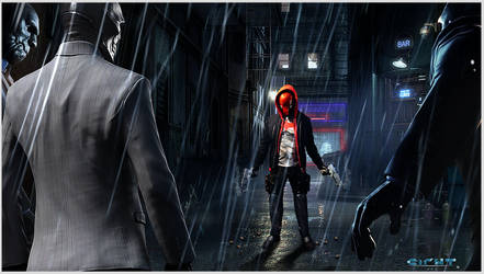 Red Hood. The end of the line!