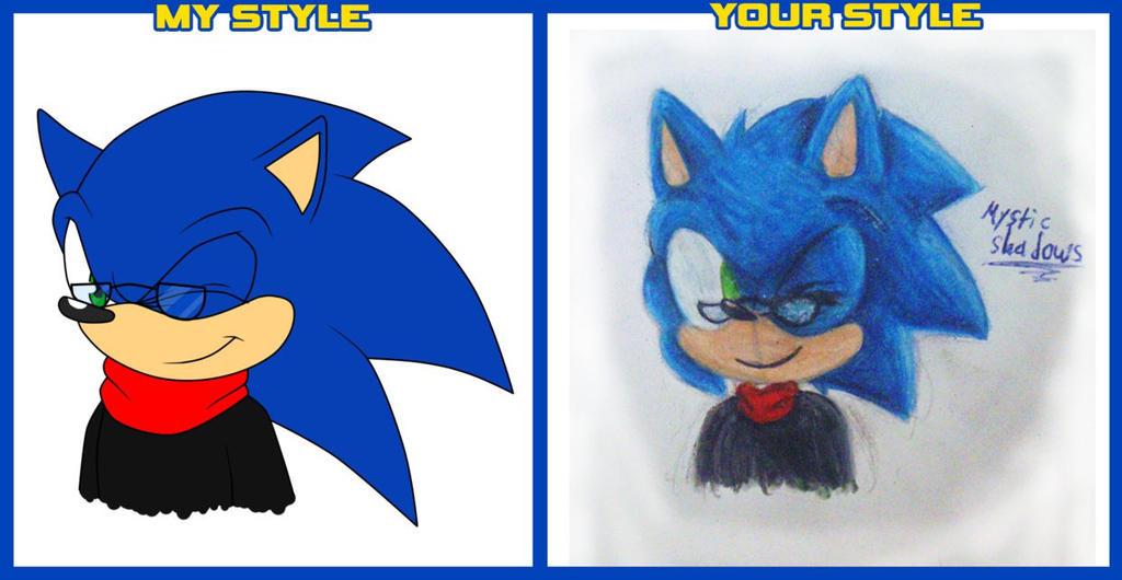 Sonic Style Meme by Mystic-Shadows
