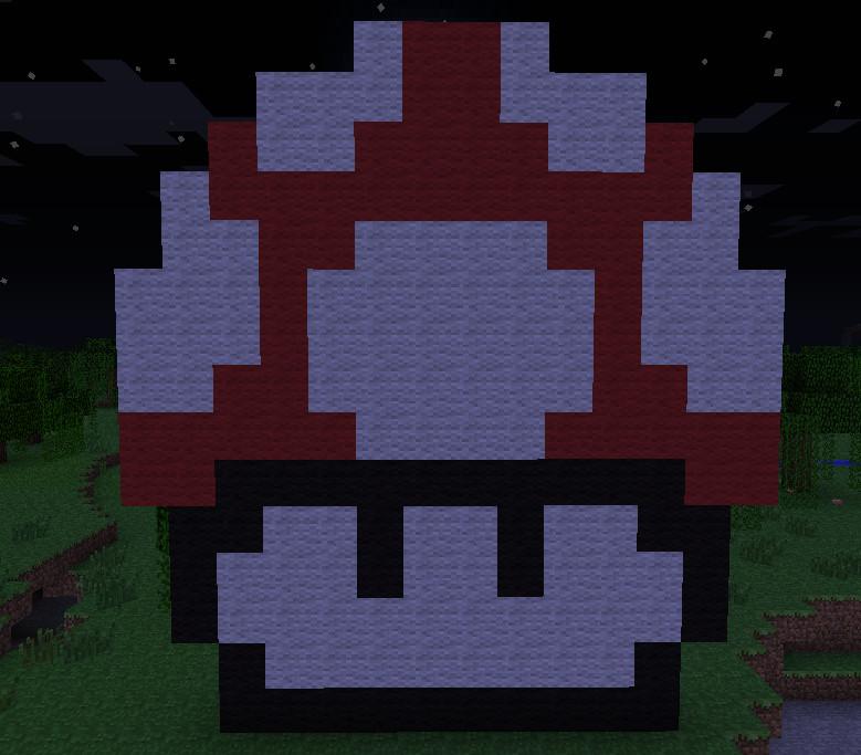 Minecraft Mushroom Pixel Art By Nitrothart On Deviantart