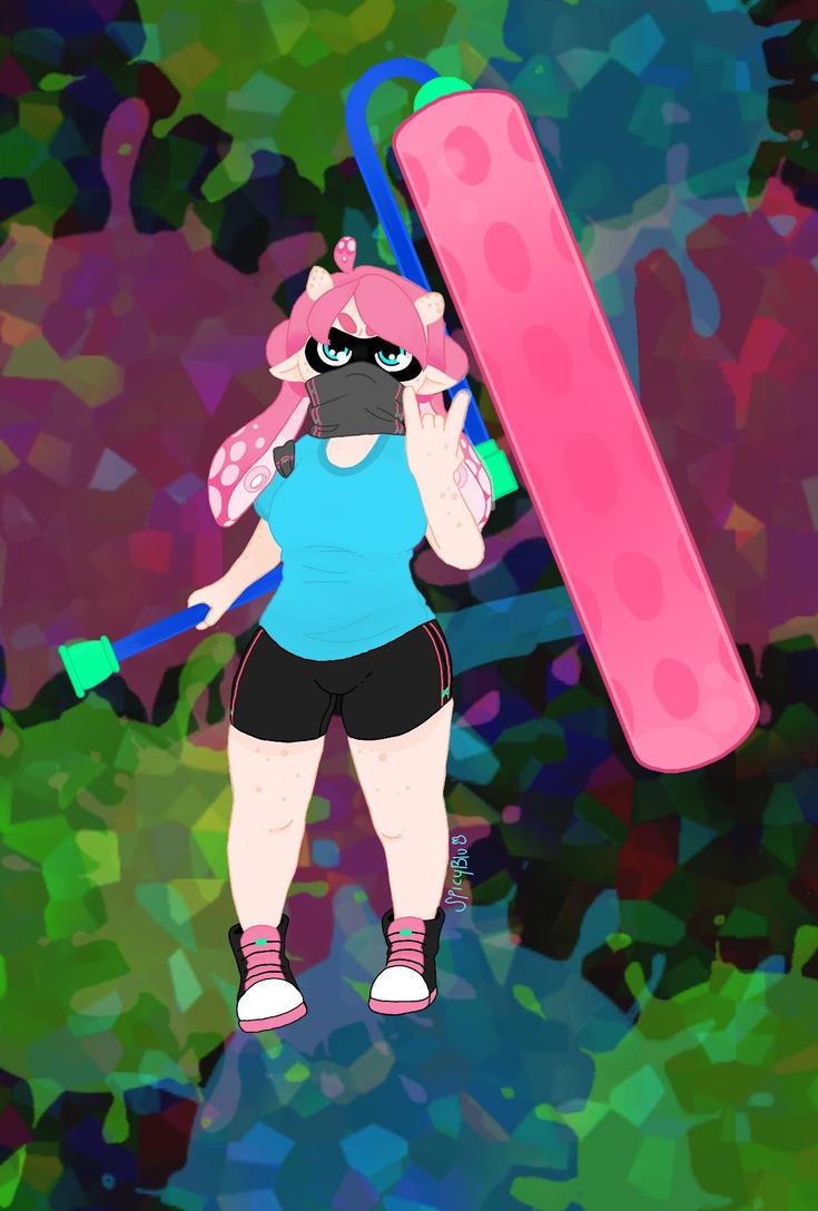 Splatoon O.C by SpicyBlu