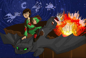 Hiccup BAMF by Surfer-Draik