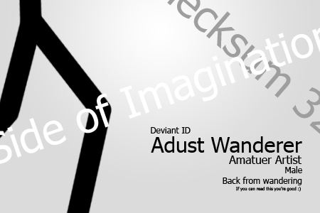 Adust-Wanderer's Profile Picture