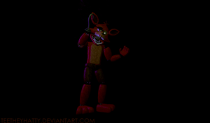 [FnaF-Gmod Poster] UnWithered Foxy